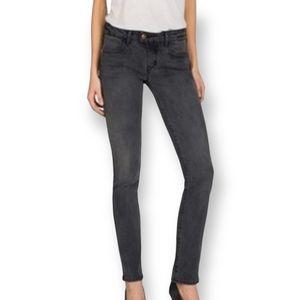 American Eagle Black Super Stretch Skinny Jean Size 14